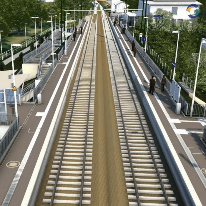 Verkehrsstation Heidesheim