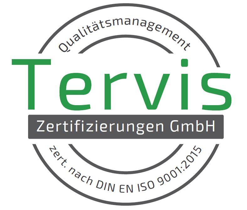 Tervis Zertifizierungszeichen QM